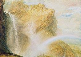 J. M. W. Turner | Upper Falls, Reichenbach , c.1802 | Giclée Paper Print
