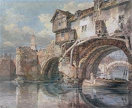 J. M. W. Turner | Old Welsh Bridge, Shrewsbury, 1794 | Giclée Paper Print