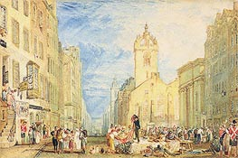 J. M. W. Turner | High Street, Edinburgh, c.1818 | Giclée Paper Print