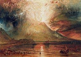 J. M. W. Turner | Mount Vesuvius in Eruption, 1817 | Giclée Paper Print