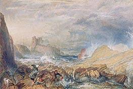 J. M. W. Turner | Tantallon Castle, 1821 | Giclée Paper Print