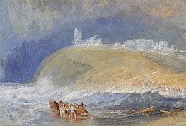 J. M. W. Turner | Dunstanborough Castle, Northumberland, c.1829 | Giclée Paper Print