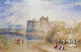 Carew Castle, Pembroke, c.1832 by J. M. W. Turner | Giclée Paper Print