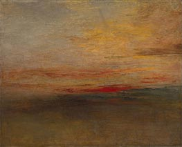 Sunset, c.1830/35 by J. M. W. Turner | Giclée Canvas Print