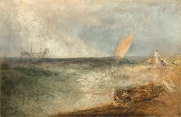 View of Margate, Evening, c.1840 by J. M. W. Turner | Giclée Canvas Print