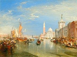 Venice: The Dogana and San Giorgio Maggiore, 1834 by J. M. W. Turner | Giclée Canvas Print