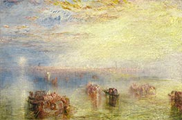 Approach to Venice, 1844 by J. M. W. Turner | Giclée Canvas Print