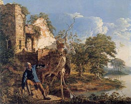 Wright of Derby   The Old Man and Death, 1774   Giclée Canvas Print