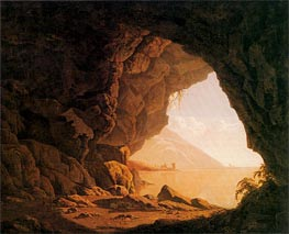 Wright of Derby   A Cavern Morning, 1774   Giclée Canvas Print