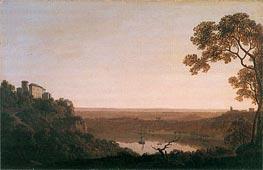 Wright of Derby   Lake Nemi, c.1790/92   Giclée Canvas Print