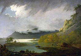 Wright of Derby   Derwent Water with Skiddaw in the Distance, c.1795/96   Giclée Canvas Print
