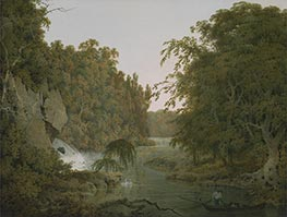 Wright of Derby   Dovedale, 1786   Giclée Canvas Print