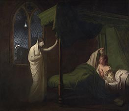 Wright of Derby   William and Margaret from Percy's Reliques of Ancient English Poetry, c.1785   Giclée Canvas Print