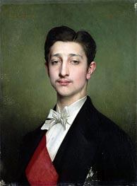 Jules Joseph Lefebvre | Portrait of Eugene-Louis-Napoleon Bonaparte, 1874 | Giclée Canvas Print
