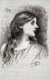 Jules Joseph Lefebvre | Lia, 1877 | Giclée Paper Print