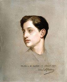 Jules Joseph Lefebvre | Portrait of the Imperial Prince, 1870 | Giclée Canvas Print