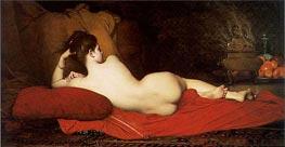 Jules Joseph Lefebvre | Odalisque, 1874 | Giclée Canvas Print