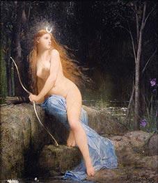Diana, 1879 by Jules Joseph Lefebvre | Giclée Canvas Print