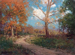 October Sunlight, 1911 by Julian Onderdonk | Giclée Canvas Print