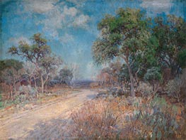 Road to the Hills, 1918 by Julian Onderdonk | Giclée Canvas Print