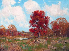 Fall Landscape, undated by Julian Onderdonk | Giclée Canvas Print