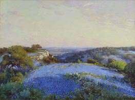 Near San Antonio, c.1918 by Julian Onderdonk | Giclée Canvas Print