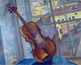 Violin, 1918 by Kuzma Petrov-Vodkin | Giclée Canvas Print