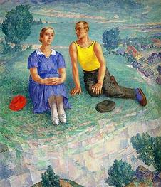 Kuzma Petrov-Vodkin | Spring, 1935 | Giclée Canvas Print