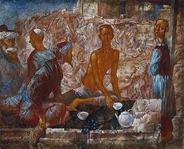 Kuzma Petrov-Vodkin | Samarkand Scene, 1921 | Giclée Canvas Print
