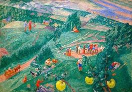 Kuzma Petrov-Vodkin | Midday, 1917 | Giclée Canvas Print