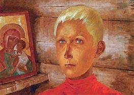 Kuzma Petrov-Vodkin | Vasya, c.1922 | Giclée Canvas Print