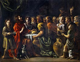 Le Nain Brothers | Last Supper, c.1620/48 | Giclée Canvas Print