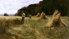 Leon-Augustin Lhermitte | The Harvesters, c.1870/80 | Giclée Canvas Print