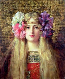 Leon Comerre | The Blonde Woman, undated | Giclée Canvas Print