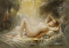 Danae, undated by Leon Comerre | Giclée Canvas Print