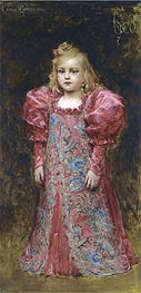Leon Comerre | Girl in Costume, undated | Giclée Canvas Print