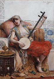 Leon Comerre | Odalisque, 1887 | Giclée Canvas Print