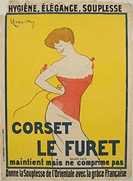 Leonetto Cappiello | Corset Le Furet, 1901 | Giclée Paper Print