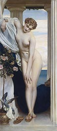 Venus Disrobing for the Bath, undated by Frederick Leighton | Giclée Canvas Print