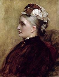 Frederick Leighton | Alexandra Leighton (Mrs Sutherland Orr), 1891 | Giclée Canvas Print