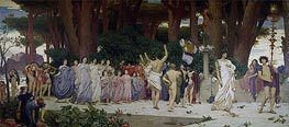 Frederick Leighton | The Daphnephoria, c.1874/76 | Giclée Canvas Print
