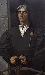 Frederick Leighton | Italian Crossbowman, 1863 | Giclée Canvas Print