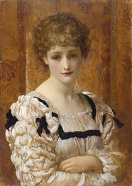 Frederick Leighton | Bianca, c.1881 | Giclée Canvas Print