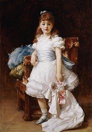 Lady Sybil Primrose, undated by Frederick Leighton | Giclée Canvas Print