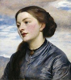 Mrs John Hanson Walker, 1867 by Frederick Leighton | Giclée Canvas Print