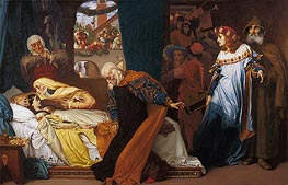 Frederick Leighton | The Feigned Death of Juliet, c.1856/58 | Giclée Canvas Print