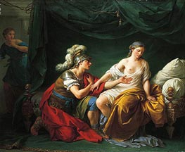 Lagrenee | Alcibiades on His Knees Before His Mistress, c.1781 | Giclée Canvas Print