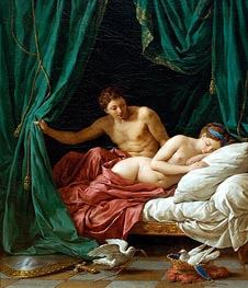 Lagrenee | Mars and Venus an Allegory of Peace, 1770 by | Giclée Canvas Print