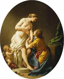 Lagrenee | Pygmalion and Galatea, 1781 | Giclée Canvas Print