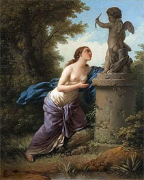 Lagrenee | Offering for Cupid, 1775 | Giclée Canvas Print